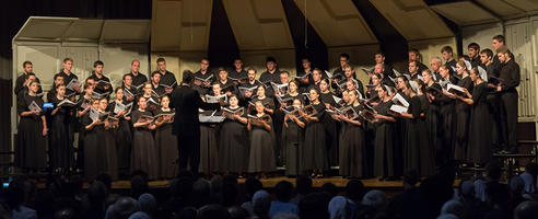 The FBTI Chorale performing in the Winter of 2016